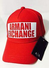 New Armani Exchange AX Mens NEGATIVE SPACE LOGO CAP