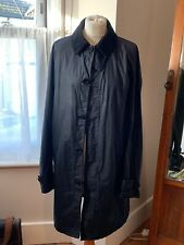 Barbour Ladies LIGHTWEIGHT 4oz Waxed Utility Jacket Blue Size SMALL (10/12)