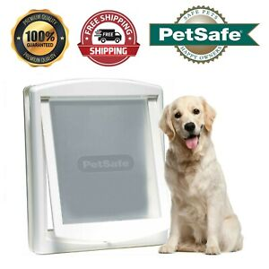 Large Dog Flap Extra Large 2 Way Pet Door Gate Entrance 2 Way Locking Pet Wall