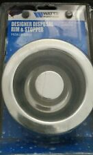 Stainless Steel & Chrome SINK RIM & STOPPER Kenmore ISE GE Kitchen Aid Disposal
