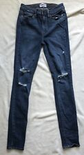 Paige Jeans Huxton Ultra Skinny Distressed Size 27 X 30