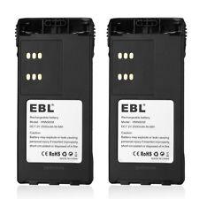 2x 2500mAh HNN9008A HNN9009 Battery for MOTOROLA HT750 HT1250 PRO5150 PRO7150