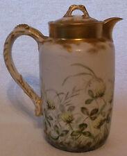 Limoges Porcelain Haviland & Co. Demitasse Teapot HP Artist Signed Late 1800's