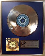 """Bryan Adams so far so good CD/COVER incorniciato +12"""" decorazione dorata vinile disco"""