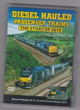 Diesel Hauled Passenger Trains - The Story of 2015 ~ Railway DVD ~ Train Crazy