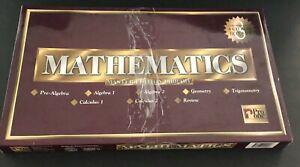 Pro One Mathematics Master Edition Library High School Homeschool 8 CD ROM Set