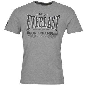 T-Shirt EVERLAST neuf Taille XL  de couleur gris