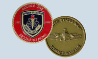 USS SELLERS DDG-11 GUIDED MISSILE DESTROYER NAVY CHALLENGE COIN