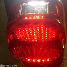 Laydown Red Led Taillight  Full Circuit Board  Harley Twin Cam Sportster 1999-03