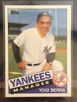1985 Topps Yogi Berra Baseball Card #155