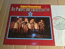 DIE PINUPS UND EIN HEISSER TYP - SOUNDTRACK - LP - X RECORDS 6.24967 AP