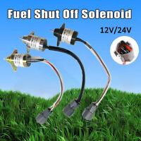 Absteller Abstellmotor Solenoid Stopmagnet Magnetventil 12/24V Für Yanmar Kubota
