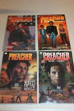 4 UNREAD Preacher TPB GN 1 2 3 5  SC Garth Ennis Dillon TV Show Vertigo Comics