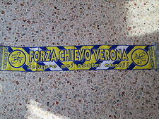 d1 sciarpa AC CHIEVO VERONA FC football calcio club scarf bufanda italia italy