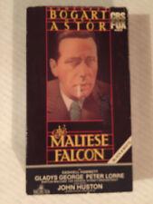 The Maltese Falcon, Humphrey Bogart, Mary Astor, Vhs, Cbs Fox, 1941/84