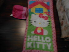 Hello Kitty Sleeping Bag + Storage Carry Bag Size 28 Inches X 56 Inches-Sanrio