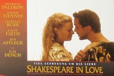 Shakespeare In Love - Lobby Cards Set - Fotosatz Gwyneth Paltrow Joseph Fiennes