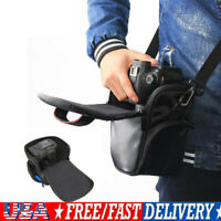 DSLR SLR Camera Shoulder Bag Case Waterproof Shockproof for Canon Nikon EOS Sony