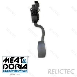 Gas pedal sensor for Citroen Fiat Peugeot:NEMO,BIPPER,FIORINO,QUBO 16032605180