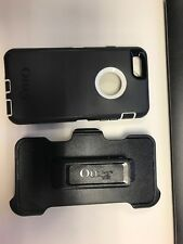 OTTERBOX Defender Series Case for iPhone 6/6S Black/White w/ holster NO SCREEN