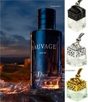 5XCar Air Freshener Diffuser Scent ornament Hanging Perfume Bottle -  SAUVAGE