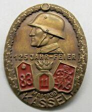 german tinny badge, Kassel 1938