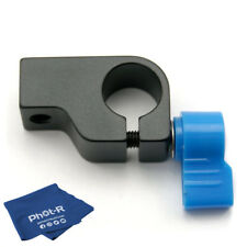 Phot-R 15mm Rod Clamp Holder Camera Rig Rail Support System Arm Microfibre Cloth