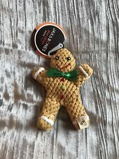 Brand New W/Tags Gingerbread Dog Rope Toy From Jax & Bones