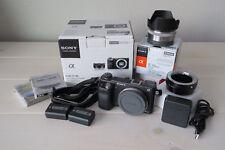 Sony Alpha NEX-6 Mirrorless Digital Camera package