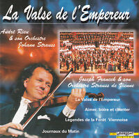CD 12T ANDRE RIEU LA VALSE DE L'EMPEREUR DE 1998 LASERLIGHT DIGITAL