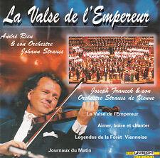 CD 12T ANDRE RIEU LA VALSE DE L'EMPEREUR DE 1998 LASERLIGHT DIGITAL