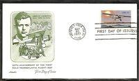 US SC # 1710 Lindbergh Flight FDC. Artmaster Cachet