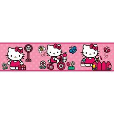 WORLD of HELLO KITTY Wall Border Wallpaper Decor Room