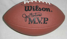 Wilson MVP JOE MONTANA SERIES LEATHER FOOTBNALL