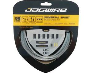 Jagwire Universal Sport Brake Cable Kit (Braided White) (Stainless) [UCK418]
