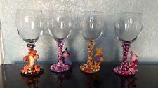 DISNEY'S WINNIE THE POOH Figura bicchieri da vino XX Set di 4 XX Pimpi Tigro ih-oh