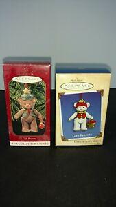 2002 Hallmark Ornament Gift Bearers # 4 Series & 1999 Hallmark Gift Bearers # 1