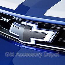 NEW Illuminated Bow Tie Emblem Kit Front & Rear Black 16-17 Camaro NEW 23393028