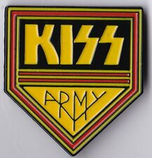 KISS - ARMY - ENAMEL WITH DOUBLE PIN