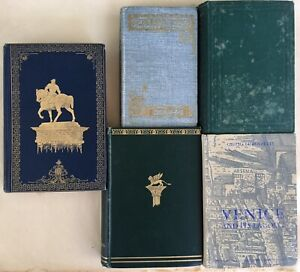 Makers of Venice and its Lagoon Giulio Lorenzetti Mrs Oliphant Venetian Life lot