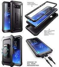 Full Body Rugged Case For Samsung Galaxy S8 Plus + Holster Shockproof SUPCASE