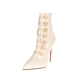 RRP €1160 CHRISTIAN LOUBOUTIN LIOSSIMA Boots EU 38.5 UK 5.5 US 8.5 Made in Italy