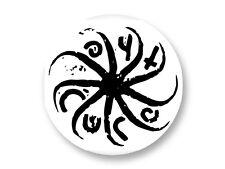 "Pin Button Badge Ø25mm 1"" Logo The Cure Robert Smith Rock UK"