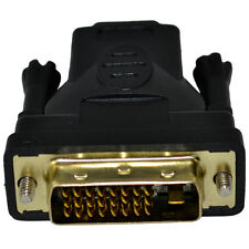 DVI Male Plug to HDMI Female Jack M-f Adapter Converter PC DVD HDTV Ps3 1080p
