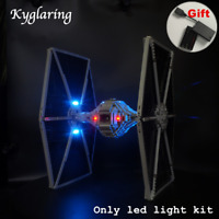 Kyglaring LED Light for LEGO 75095 Star Wars UCS Tie Fighter with battery box