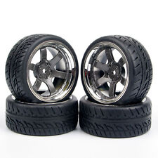 RC 4X Tires&Wheels 12mm Hex For HPI HSP 1:10 On Road Racing Model Car