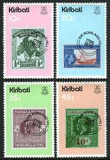 Kiribati 341-344, MI 338-341, MNH. Sir Rowland Hill. Stamp on Stamp, 1979