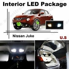 White LED Lights Interior Package Kit for Nissan Juke 2011 & up ( 6 Pcs )