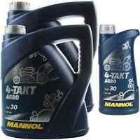 9 Liter Orignal MANNOL Motoröl SAE 30 4-TAKT AGRO SAE 30 API SG 11192115