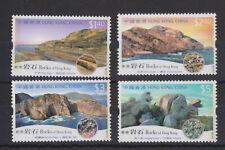 HONG KONG MNH STAMP SET 2002 GEOLOGY OF HONG KONG SG 1114-1117